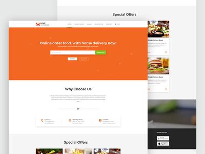 Live Kitchen Restaurant Homepage