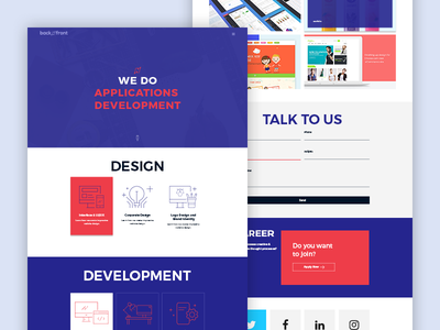 Agency Template product ui ux web unique clean creative design template agency