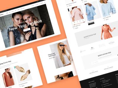 Fashion Brand eCommerce Website