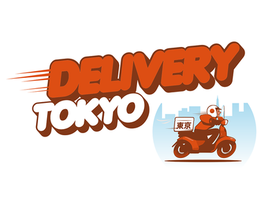 Delivery Tokyo japan restaurant delivery away out take food tokyo retro