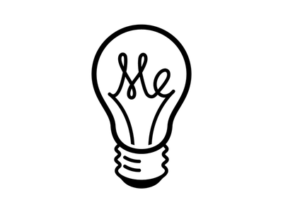 Inspire Me Logo filament bulb tokyo me inspire