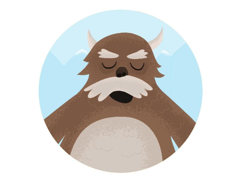 Snow Devil - Character Design  illustration rendering illustrator photoshop character characterdesign story comic flat