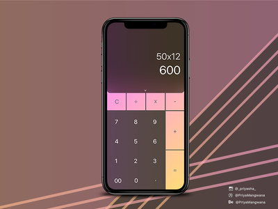 Designing A Calculator App
