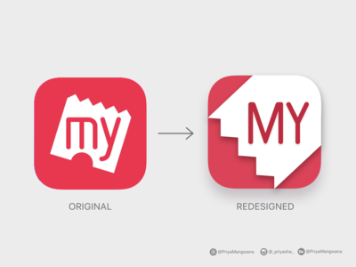 Redesigning the BookMyShow Icon