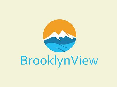 BrooklynView modern logo design ui illustration design icon typography flat minimal branding trend logo logo logo design 2021 logofolio 2021 best logo modern logo natural logo
