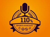 110% Sports Podcast Logo