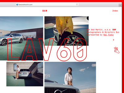BAM Photographers & Directors cologne directors photohraphers interaction web typography