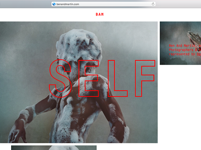 BAM Photographers & Directors cologne directors photographers web interaction typography