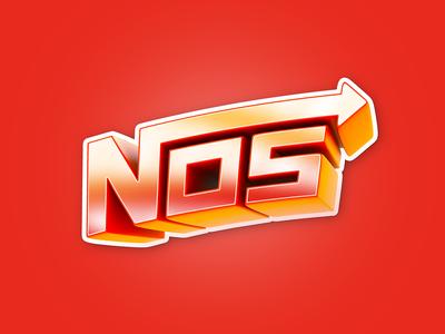 Sticker NOS