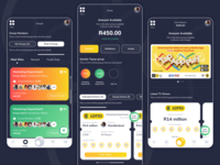 Lotto Group Play gambling gambling design lottery mobile app mobile design south africa lotto