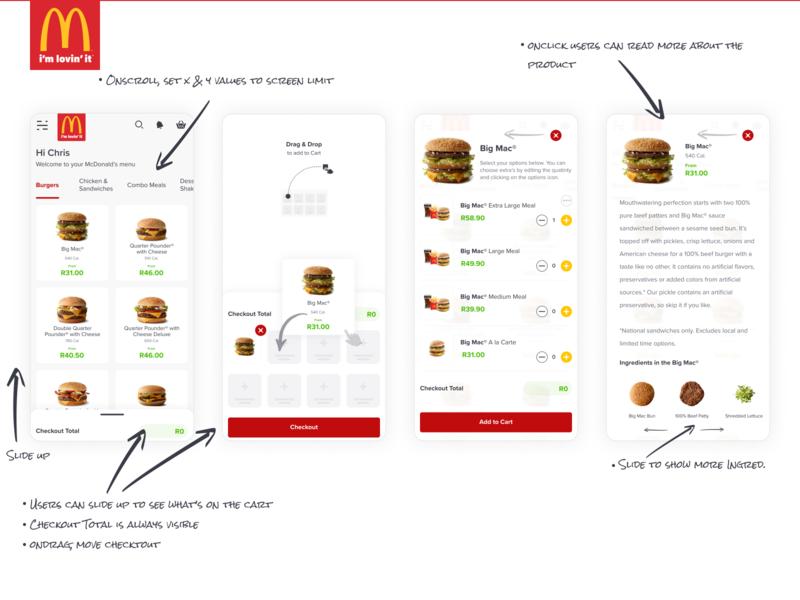 McDonalds Mobile Checkout