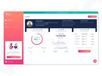 Dashboard south africa web design start-up dashboard design dashboard ui dashboard