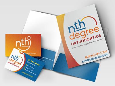 Nth Degree Orthodontics: Branding dental orthodontics orthodontia medica visual language brand branding logo responsive web design graphic design design system design