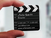 Director Mini Business Card