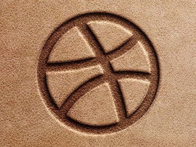 stamped leather logo mock up by benny k on dribbble stamped leather logo mock up by benny k