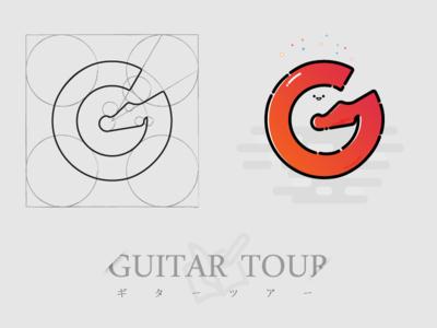 Guitar Tour Logo Design