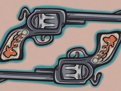 gun tattoo by sindy sinn dribbble dribbble