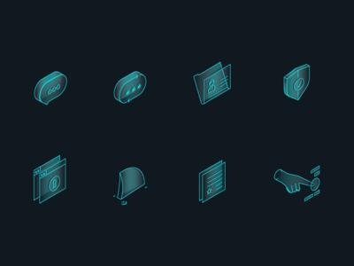 privacy beacon website icons