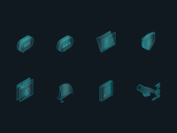 privacy beacon website icons