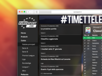 Eurosport Redesign