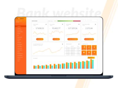 Bank website redesign