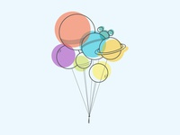 Ballooniverse in Offset Design
