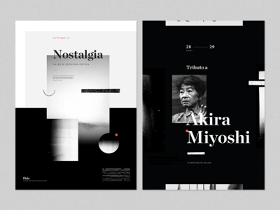 Prelude Festival Posters vol. 3 japan branding music festival oriental flat poster vintage classical grid layout