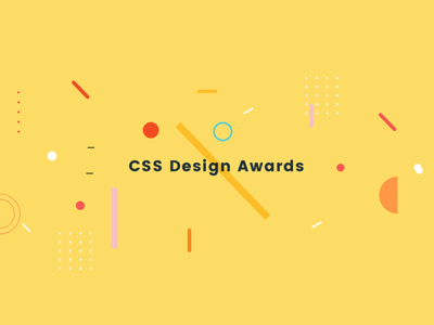 CSS Design Awards layers party float abstract geometric shape layour grid award design css branding