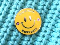 Happy data pin