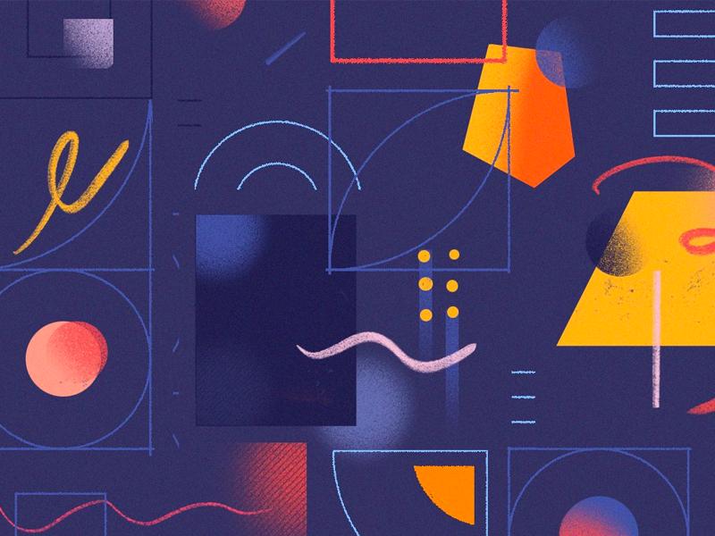 Splice Blog ipad pro abstract