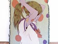 School girl blanket