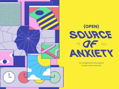 (Open) Source of Anxiety open source abstract poster increment