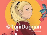 Toni Duggan × Twitter × Women in football