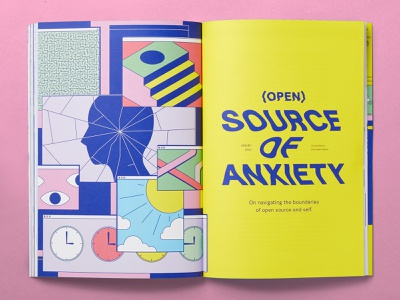 Increment Issue 9 - Open source magazine print design texture abstract poster illustration