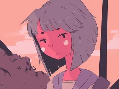 Lofi3 procreate manga anime illustrator illustration lofi