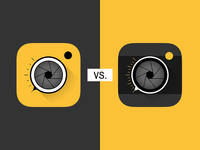 Camera Icon Fight