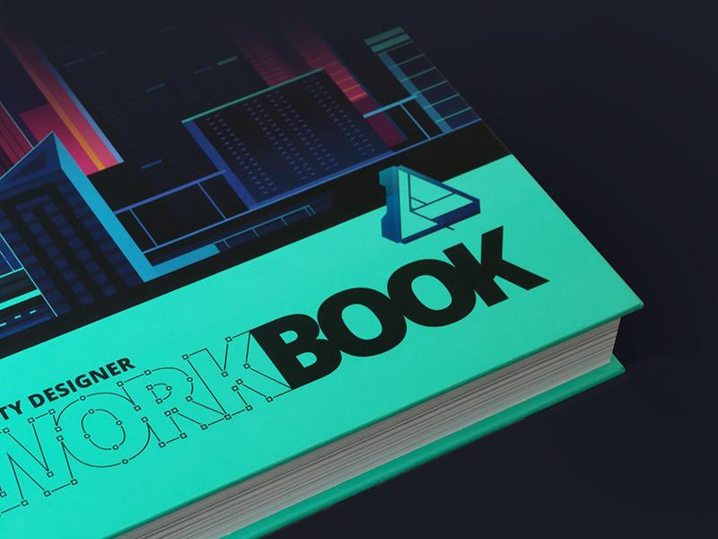 Affinity Designer Workbook Cover trystram workflow demo tutorial mac app affinity cover book