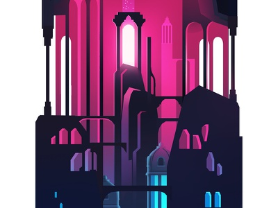 Levels_crop_04 set design background trystram exploration adventure big giant tower game color level illustration