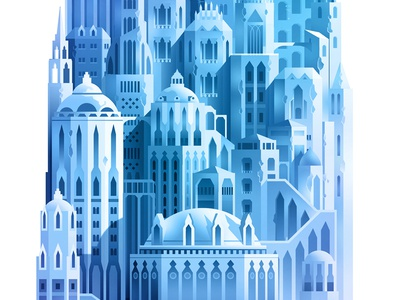 Levels_crop_05 set design background trystram exploration adventure big giant tower game color level illustration