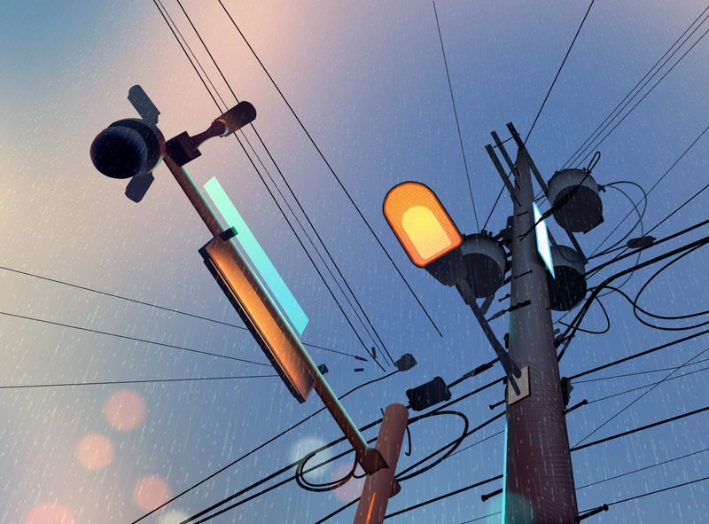 mirages n 3 008 cyberpunk neotokyo tokyo futur neon trystram illustration