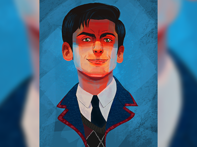 "Number Five ""Umbrella Academy"" netflix digital painting portrait art portrait design numberfive umbrella academy tv shows color photoshop pain tool sai illustration character"
