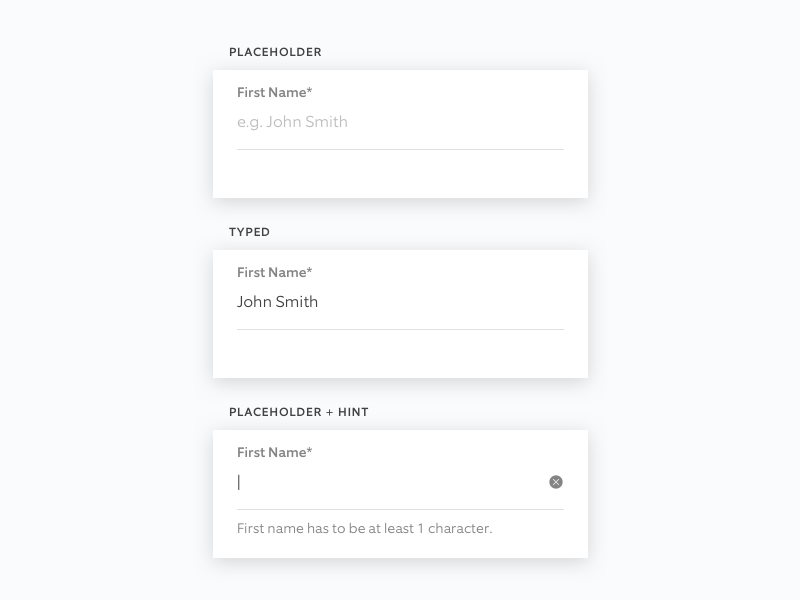 RDS: Text Fields ring design system