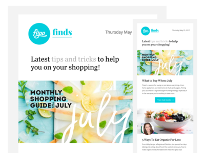 Flipp Finds Newsletter