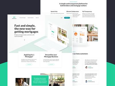 Marketing Site landing page ui ux responsive marketing mobile web website