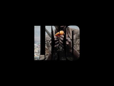 Life in 'Trash Land' print design life garbage trash land hulene mozambique black poster