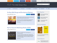 The Web Design Blog (with full size version)