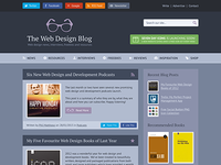 The Web Design Blog Redesign V2