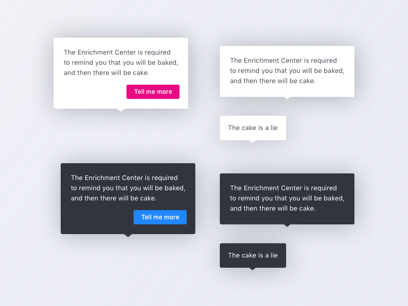 Tooltips! popup interface web tool tips modal info help tooltips tooltip ui ux