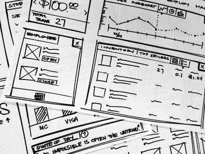 Research Sketch : Web Dashboard