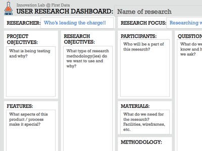 UX Research 1 Pager